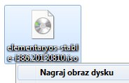 Wypalenie ISO na płytę