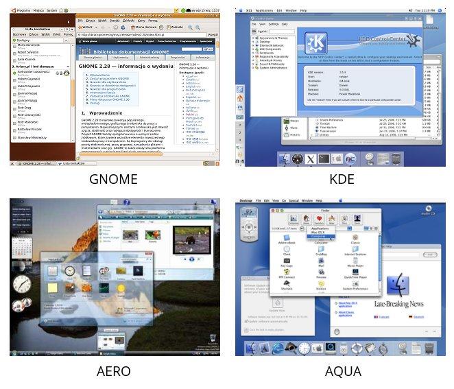 Przykładowe GUI