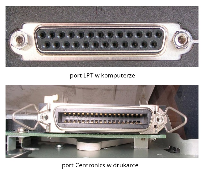 Port LPT i Centronics