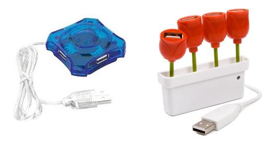 Koncentratory USB