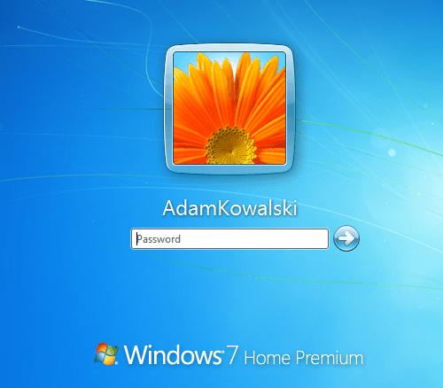 Logowanie Windows