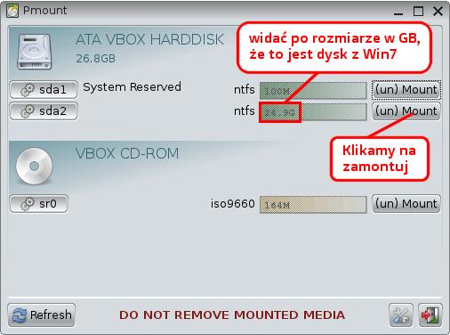 Dysk systemowy Windows