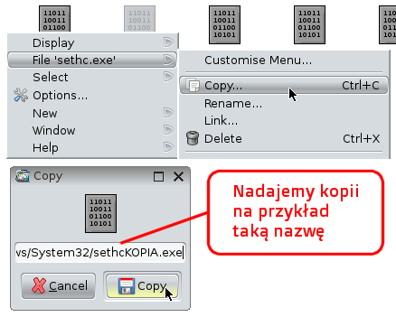 Kopia sethc.exe